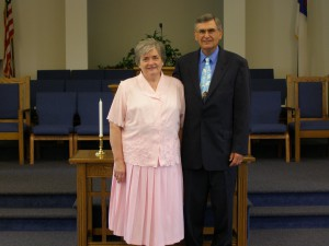 Pastor Dale Barrick and his wife